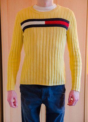Kupuj mé předměty na #vinted http://www.vinted.cz/muzi/svetry-and-mikiny-ostatni/15825794-krasny-teply-zluty-pansky-svetr-tommy-hilfiger-vel-s-m