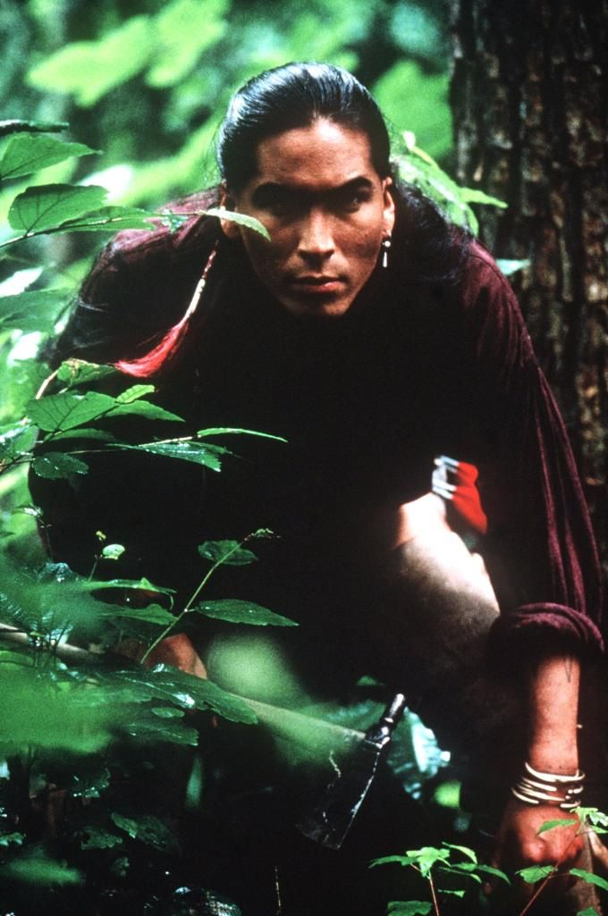 Eric Schweig. Uncas, Last of the Mohicans (1992)