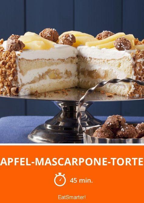 Apfel-Mascarpone-Torte - smarter - Zeit: 45 Min. | eatsmarter.de