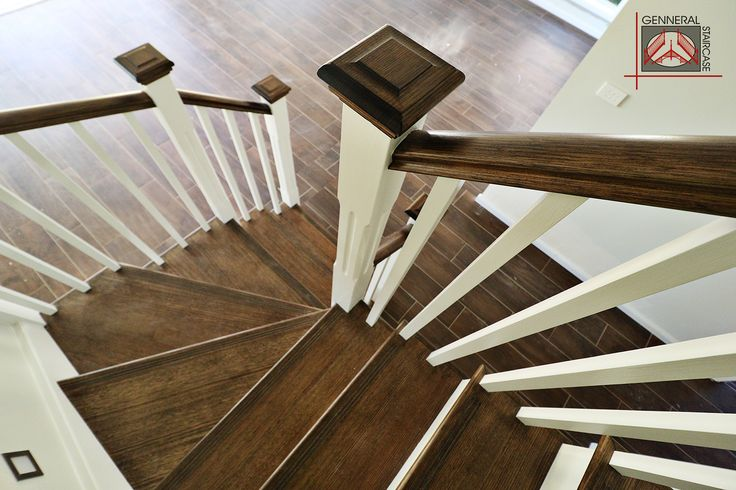Hampton style stair | Made by Genneral Staircase  Treads and Handrail of Victorian Ash.