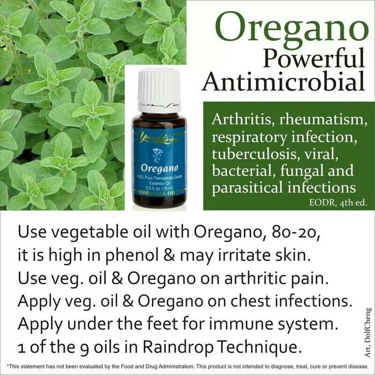 Oil of oregano how to use
