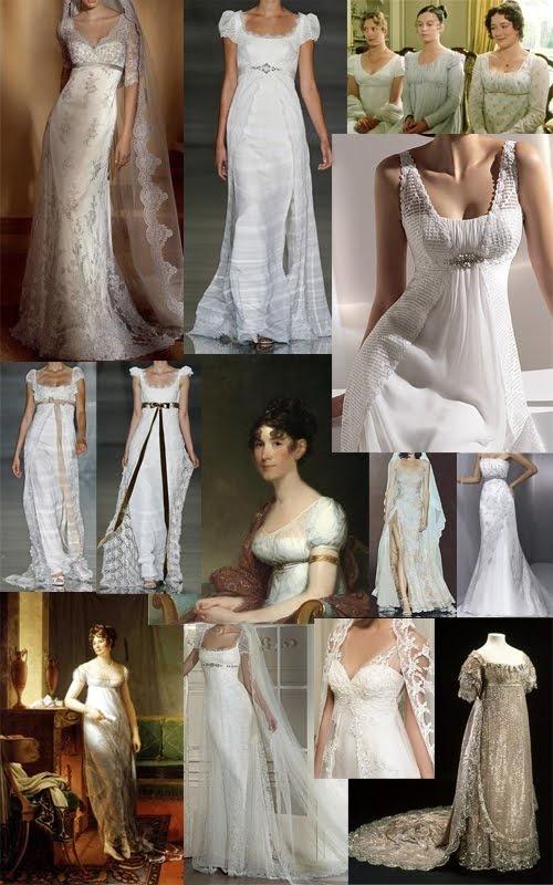 327 best georgian regency mostly images on pinterest for Regency style wedding dress