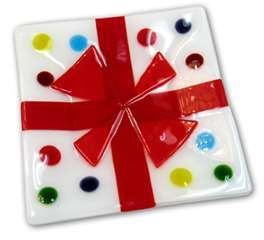 Glass fusion perfect present plate