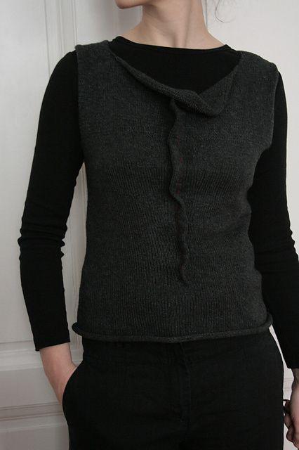 NobleKnits.com - Assemblage Thursday Vest Knitting Pattern, $8.95 (http://www.nobleknits.com/assemblage-thursday-vest-knitting-pattern/)