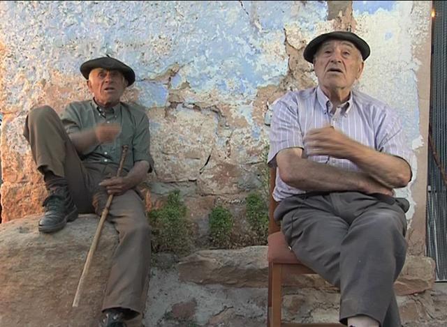 'Se veía venir...', dos abuelos de Soria predicen la crisis en 2007