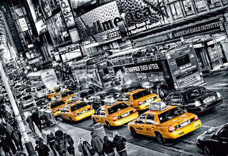 Black and White and #ColorSplash New York