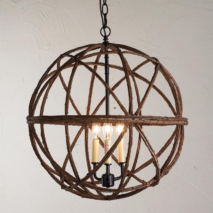 Twig Sphere Chandelier Or Pendant Light