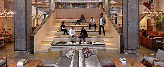 Neuehouse steps