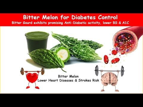 Bitter Melon or Gourd Diabetes Herb Lower BS & A1C - YouTube