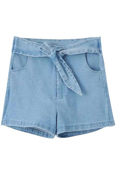 denim shorts..
