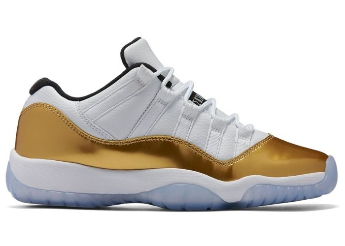 Air Jordan 11 Low White Gold Olympic Release Date. Air Jordan 11 Low  Closing Ceremony Release Date August 2016