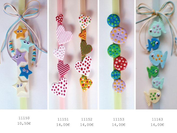 k-art handy crafts: Easter candles / Πασχαλινές λαμπάδες
