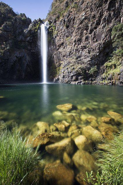 Cachoeira do Fundão, Serra da Canastra, Minas Gerais, Brasil...
