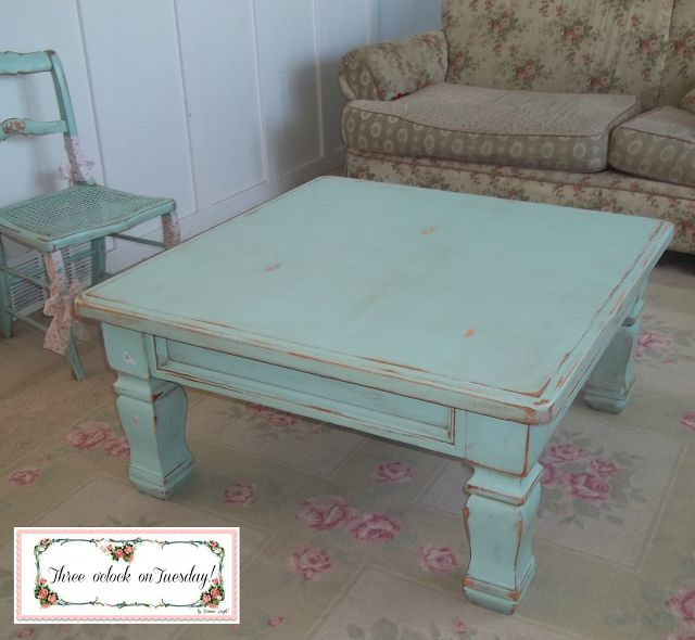robin's egg blue coffee table - Google Search