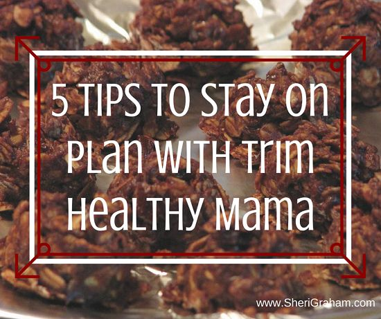 I was probably one of the first ones to purchase the Trim Healthy Mama book when it came out and I can't believe that was over 2 years ago! Over those two years I have been amazed at the progress I have made but have to admit there have been times of falling off plan […]