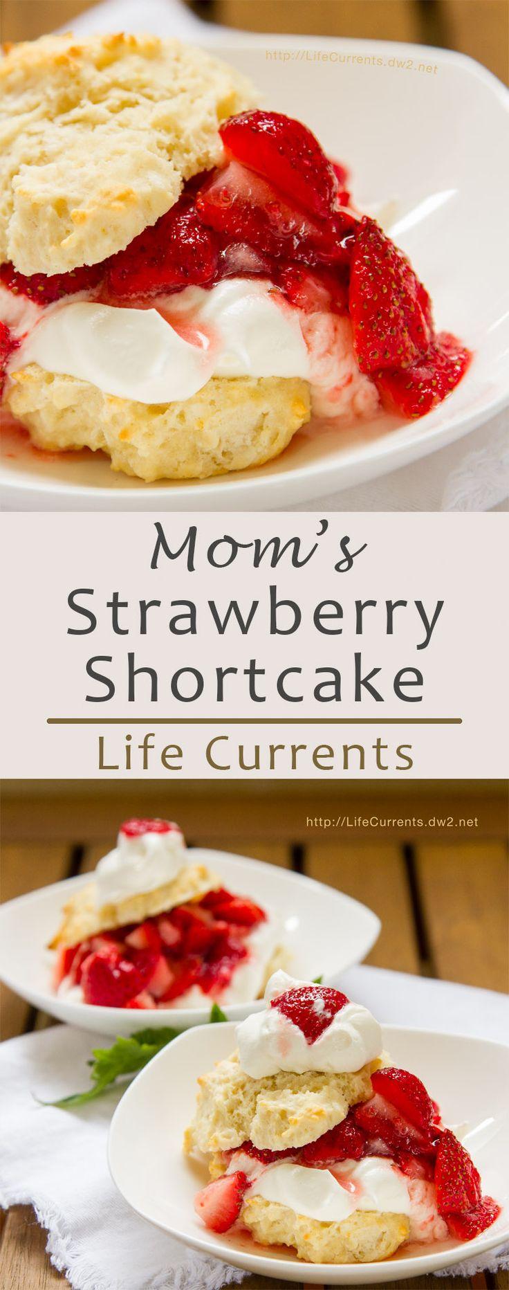 Strawberry shortcake, Strawberries and Mom on Pinterest