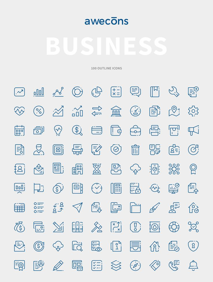 Awecons is a highly rated and useful set of  icons for any design project…
