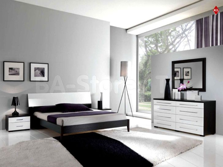 Luxury White Bedroom Set With Dark Frames Luxury Bed Frame - http://www.interior-design-mag.com/home-decor-ideas/luxury-white-bedroom-set-with-dark-frames-luxury-bed-frame.html