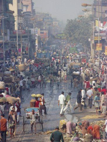 Street Life - Calcutta, India