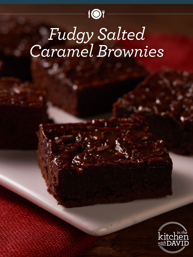 Fudgy Salted Caramel Brownies - What's Your Favorite One-Pot Dessert ...