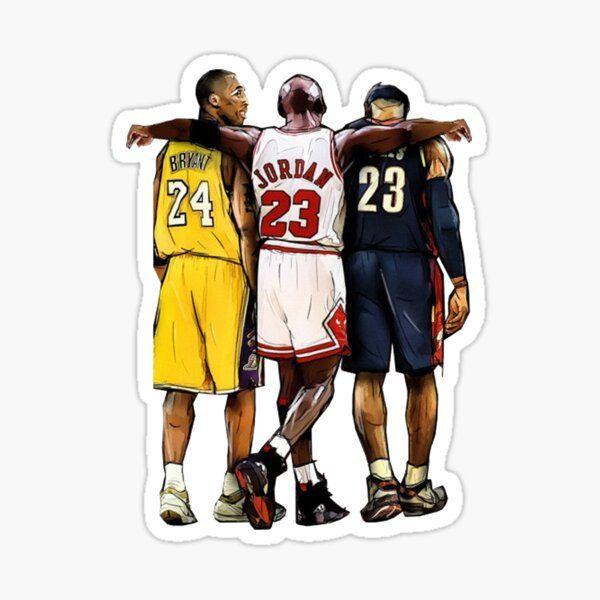 Jordan 23, Kobe, Lebron Sticker laptop decal bottle decal anywhere ...
