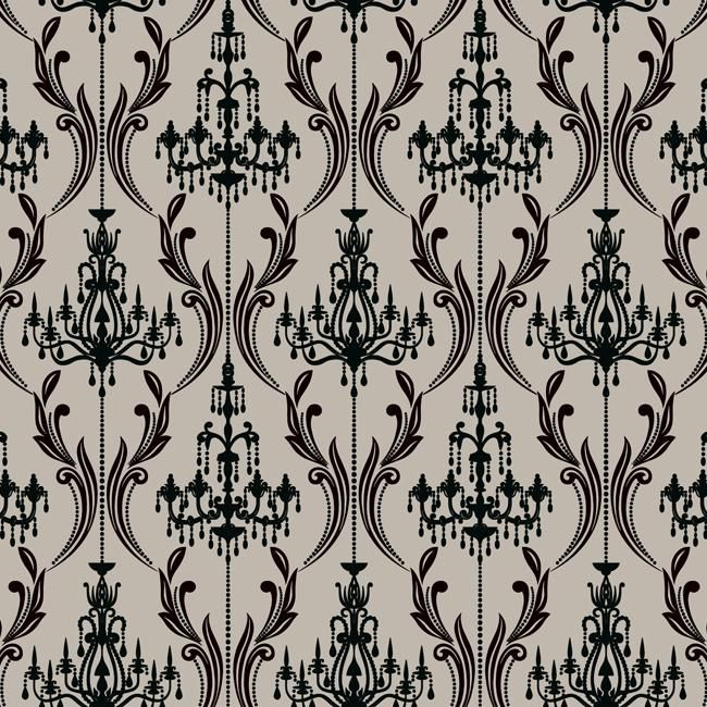Bedroom Black Chandelier Bedroom Lighting Ideas Diy Bedroom Blue And Grey Gothic Bedroom Accessories: Best 25+ Damask Wallpaper Ideas On Pinterest