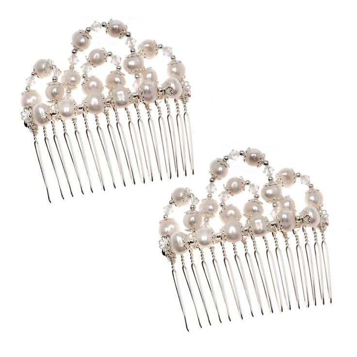 75 best wirewrapped jewelry diy images on pinterest beading this gorgeous pearl wedding comb will do just that and you can make this vintage looking wedding jewelry yourself with some pearls wire and patience solutioingenieria Gallery