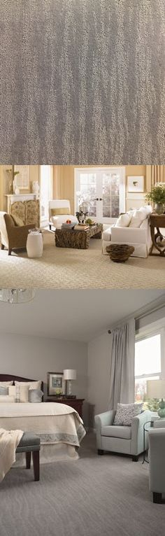 Texture on texture carpet can add another dimension to your decor.