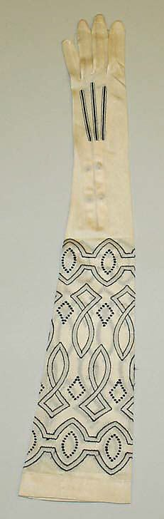 Beautiful 1920s Silk Gloves, Kayser-Roth Glove Co., Inc., American