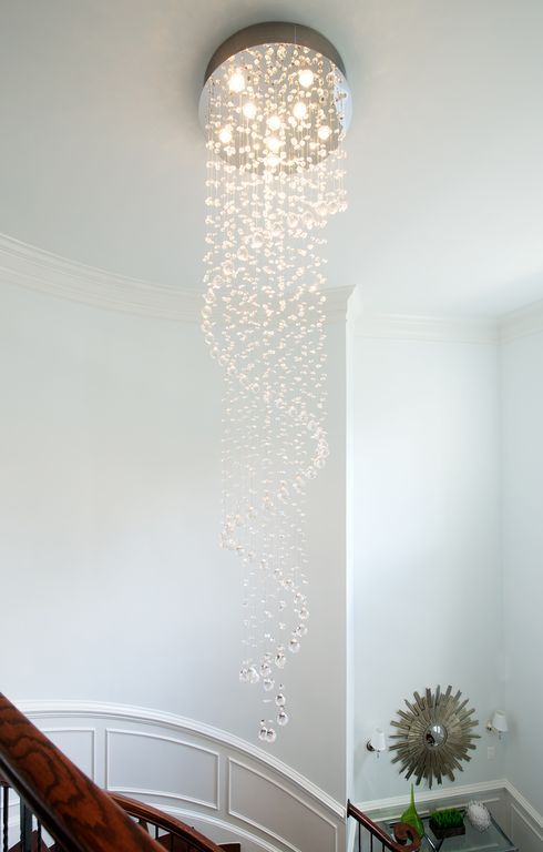 12 best staircase light ideas images on pinterest chandeliers image result for staircase chandelier contemporary aloadofball Choice Image
