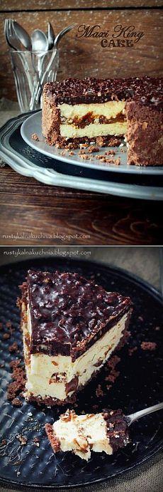 Молочный торт с карамелью и шоколадом | Готовим вместе