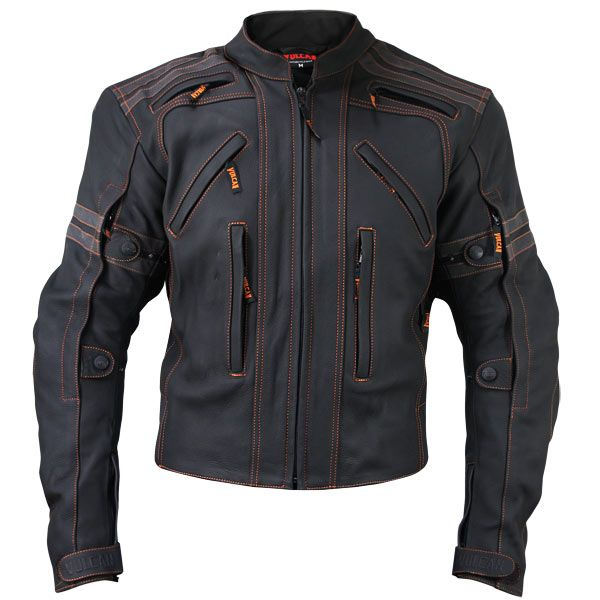 My favorite riding jacket in every way. Removable armor and vents everywhere you need them. Did I mention it's ORANGE?!