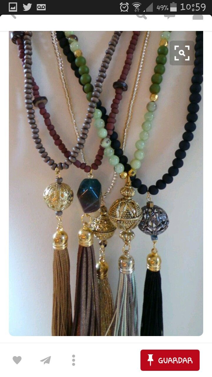 Like the large bead and then the tassle