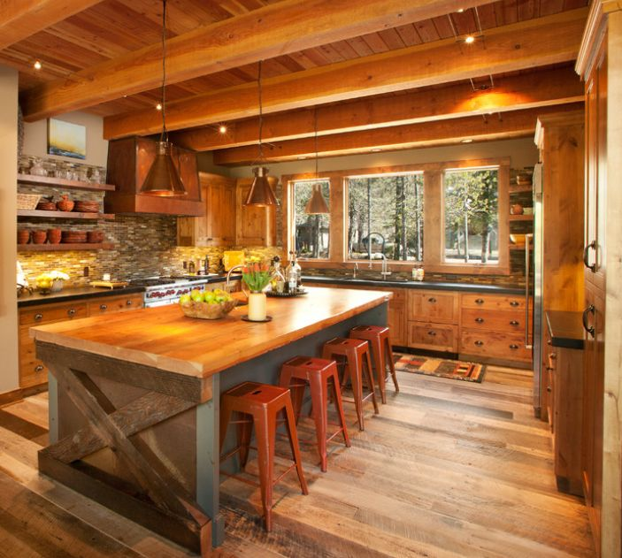 Rustic Kitchen Ideas For Decorating: Best 25+ Lodge Style Decorating Ideas On Pinterest