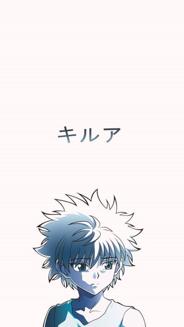 キルア Killua You Are In The Right Place About Anime Characters Crazy Here We Offer You The Most Beautiful Pi Aesthetic Anime Anime Wallpaper Hunter Anime