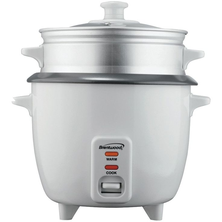 "8-cup Capacity- Steamer Attachment - Nonstick Coated Inner Pot - Auto Shutoff - 500w - Cul Approved - Dim: 11.5""h X 10""w X 12""d - Weight: 5.3lbs"