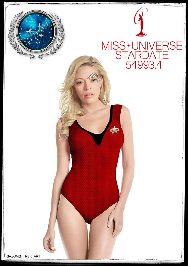 Star Trek 7 of 9 enters Miss Universe by gazomg