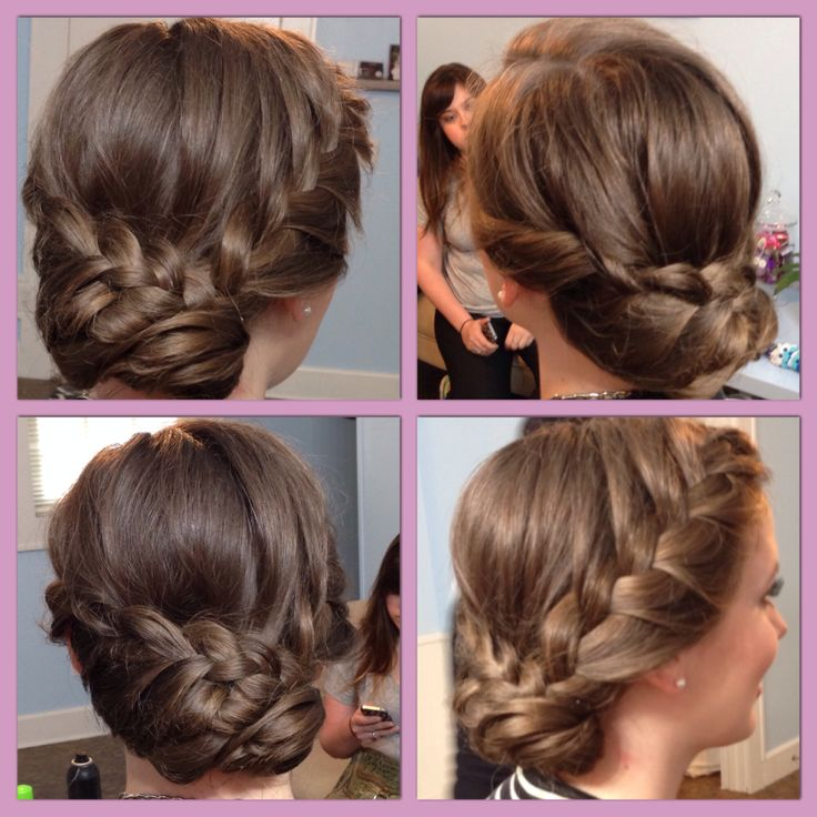 Soft Elegant Braided Updo Perfect For Weddings Prom Or Any Special Occasion Hair By