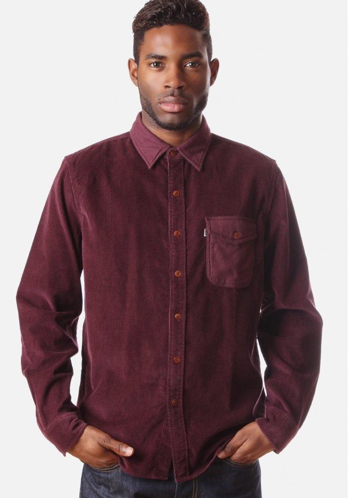 Levi's Corduroy Men's Work Shirt Wine #DiffusionNewArrivals