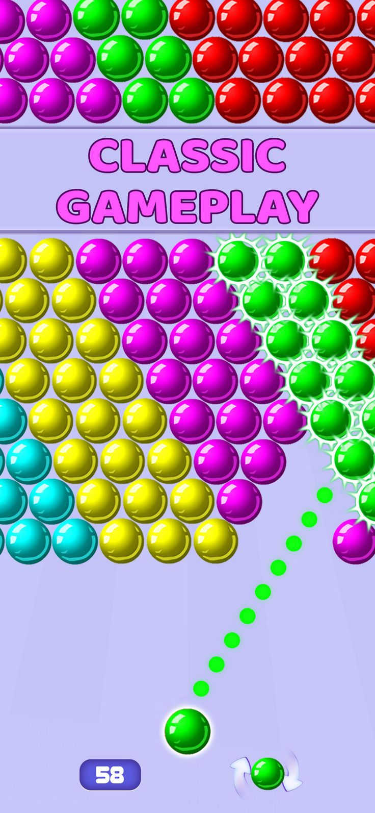 Bubble Shooter Pop Bubbles GamesDynamicsEntertainment
