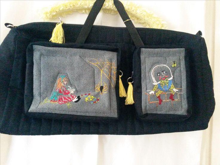 Custom made Diaper bag