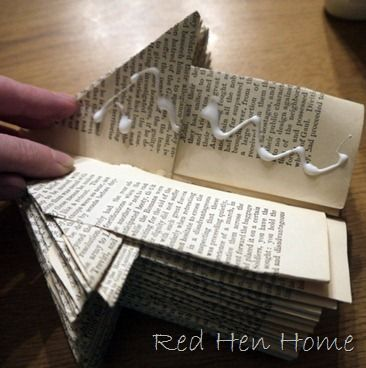 How to do--book birdhouse