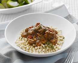 Slow Cooked Beef & Red Wine Casserole Recipe   PHILADELPHIA #SlowCooker #Beef #Recipe