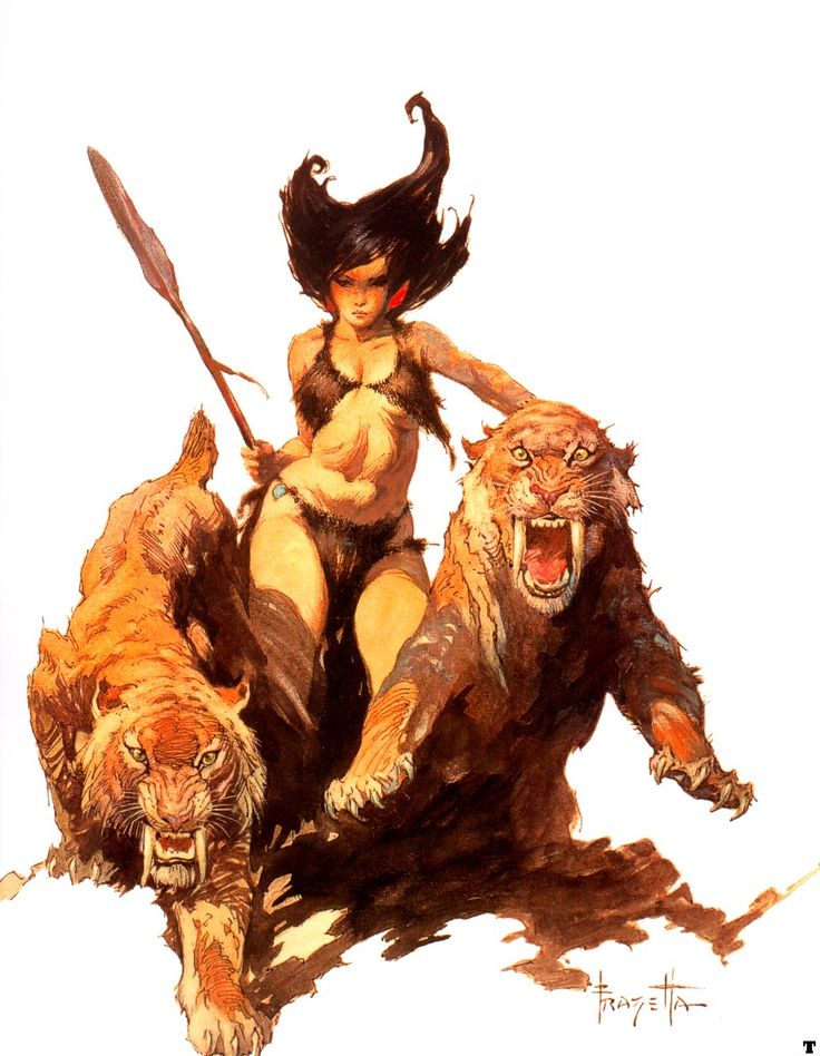 Comic Book Artist: Frank Frazetta | Abduzeedo | Graphic Design Inspiration and Photoshop Tutorials: