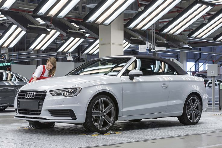 Audi A3 Cabriolet rolls off the Hungarian line - Automotive Supply Chain