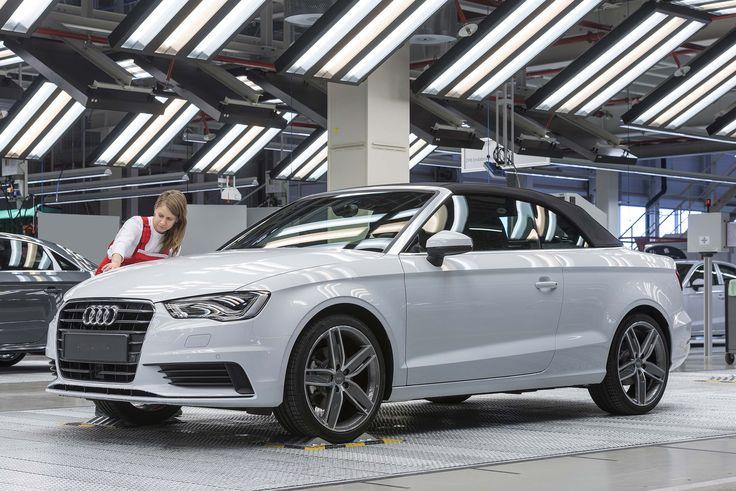 Audi A3 Cabriolet usine