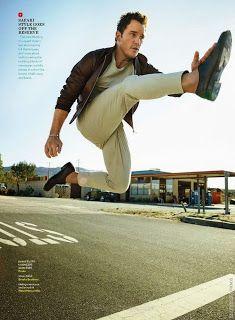 Chris Pratt para GQ USA por Peggy Sirota