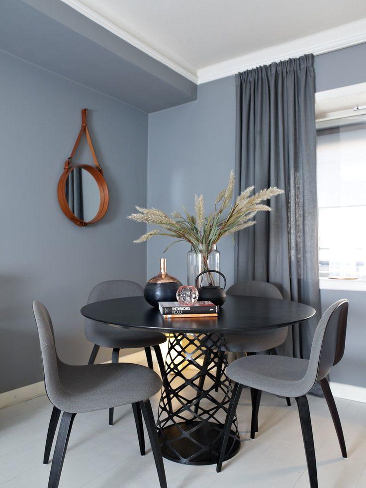 Un appartement norvégien en gris bleu | PLANETE DECO a homes world