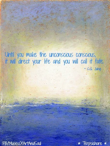 Until you make the unconscious conscious, it will direct your life and you will call it fate.
