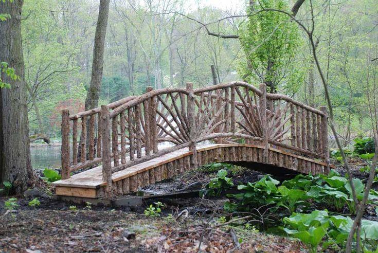 12 best Bridges over creek images on Pinterest   Garden